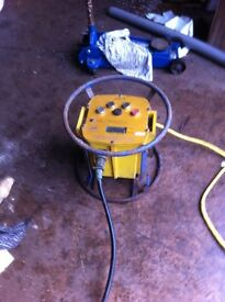 Plastic pipe welder in good working order