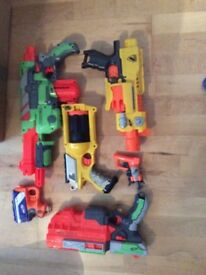 Nerf Gun Selection - No Ammo