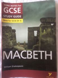 GCSE - Macbeth Study Guide - New GCSE9-1 & Macbeth work book