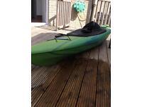 Pelican Esprit 100 Kayak and Paddle