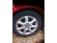 Audi 16 inch alloy wheels