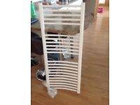 White towel rail