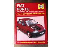 Haynes Manual, Fiat Punto 94-96