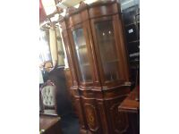 Vintage French style tall cupboard