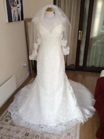 Brand new Mori Lee wedding dress uk22