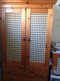 Mamas and papas 3 piece bedroom wardrobes set