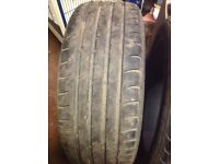 """two 19"""" tyres cheap 245x45x19"""