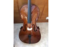 Cello 4/4 Stentor II *LIKE NEW*