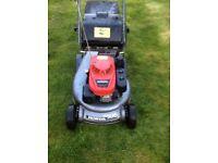 Honda hrd 536 Petrol rotary lawnmower 2015