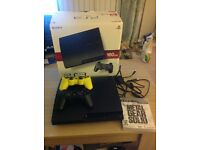 160Gb Sony PS3 Slim with additional controller and game