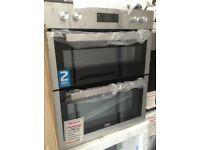 Beko built under double fan oven. £269 RRP £395 new/graded 12 month Gtee
