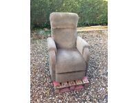 Riser recliner chair. Pride C1-Petite. Barely used