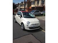 Fiat 500c lounge twin air convertible 2012 pearlescent paint
