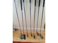Golf Clubs with Golf Bag and Golf Balls