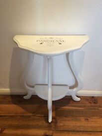 Quirky upcycled shabby chic console table - lovely!