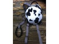 little lite cow rucksack with lead