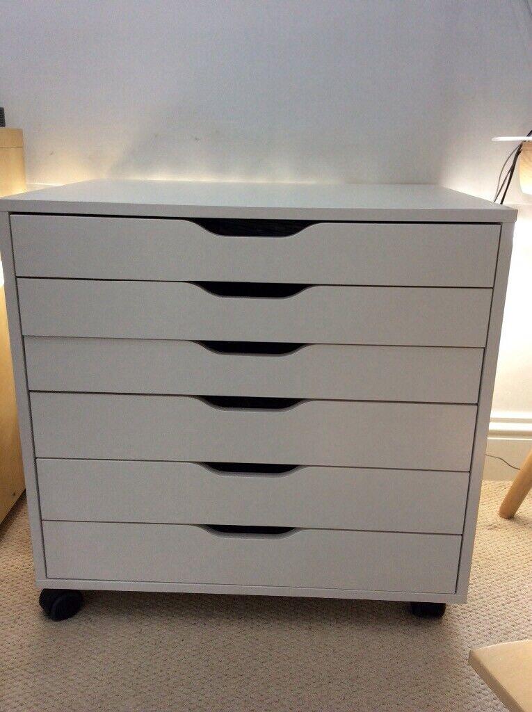 Ikea Alex 6-drawer unit/filing cabinet | in Kingsbridge, Devon | Gumtree