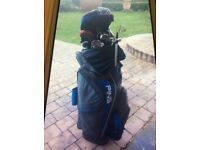 PING Golf Bag with selection of PING Golf Clubs