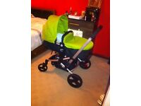 Mothercare Xpedior Pram and Travel System Green