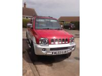 Suzuki Jimny O2 convertible limited edition car