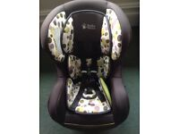 Baby weavers car seat 0-18kg rear and front facing