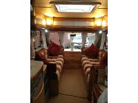 Swift challenger 530se,4 berth caravan,just hitch up and go with motormover