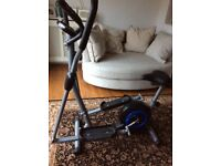 Cross Trainer - elliptical 2 in 1 exercise bike