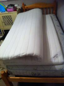 Ikea King size matress topper