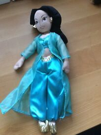 DIsney plush Jasmine Doll
