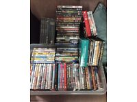 100+ DVDs all genre