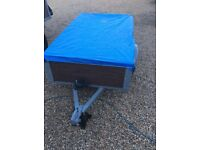 5ft by 3ft trailer ideal for boot sales or takeing rubbish to the dump £160
