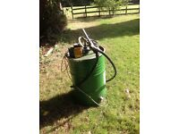 Bio diesel fuel processor/pump. £70