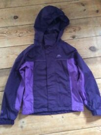 Girls Trespass Jacket age 9-10