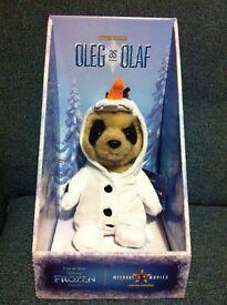 Oleg as OLAF meerkat - Perfect for Christmas!