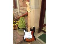 Tokai strat style guitar - left handed