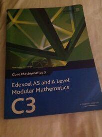 C3 Edexcel AS/A level maths book!