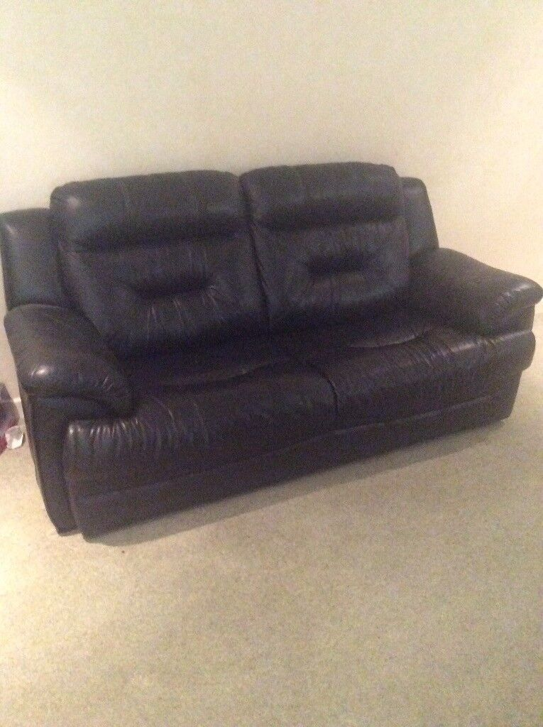 Bargain Holt Norfolk Dfs Pantha Leather Sofa 80 Cost 895