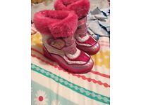 Disney princess snow boots size 11