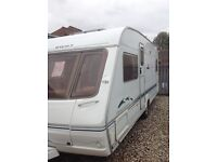 Swift challenger 500se 2004 4 berth fixed bed