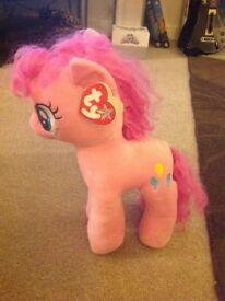 My Little Pony Pinkie Pie (large) TY Beanie Plush