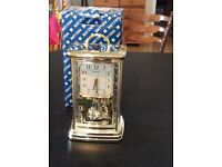 Rhythm Clock, Classic carriage with Arabic numerals, Never used unwanted gift