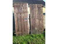 Wooden Heavy Duty Gates