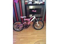 Bike Girls pink and white fab condition