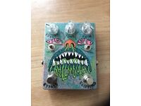 Abominable Electronics Hell Mouth Tube Screamer Clone Overdrive Pedal