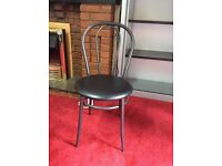 Attractive, hardly used chairs - black £15