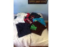 Collection of men's clothing ranging from size M-XL, all well known brands