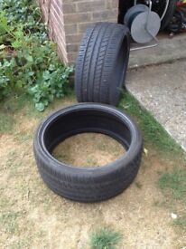 245/30 ZR x20 tyres, RS400 , excellent condition, one pair.