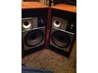 Wharfdale Glendale- XP 3 - Speakers X2 Fitted with new vintage Tweeters