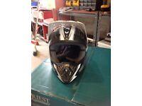 Motor cross helmet for sale very good condition