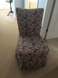 Pretty bedroom chair.